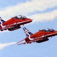 Red Arrows from Aviation Artist - Derek Blois